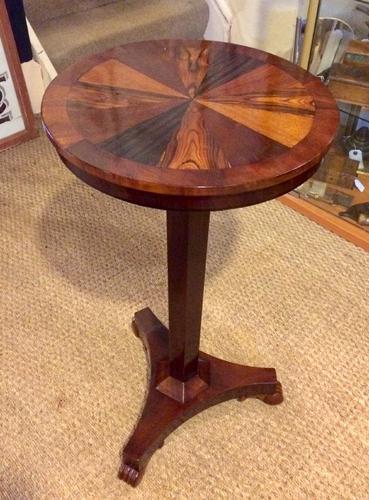 Specimen Wood Tilt Top Table c.1850 (1 of 1)