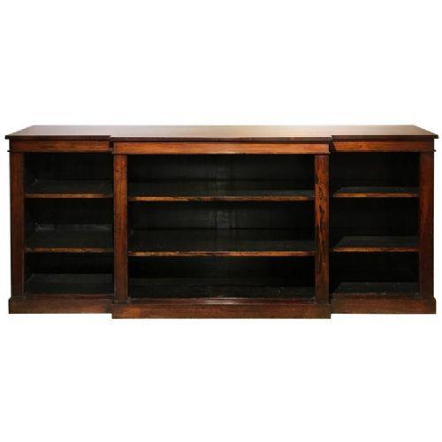 Georgian Rosewood Breakfront Bookcase (1 of 1)