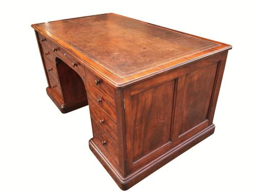 Fabulous 19th Century Partners Desk by Gillow (1 of 1)