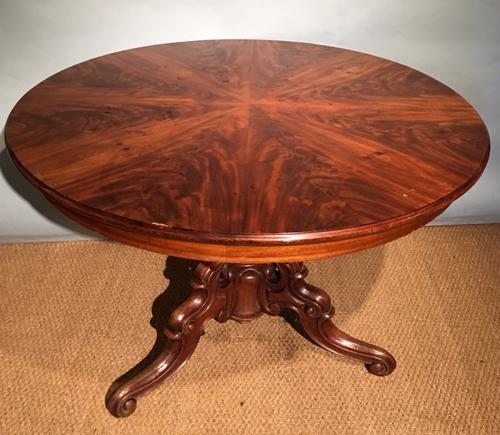 Mahogany Dining Table / Centre Table c.1870 (1 of 1)