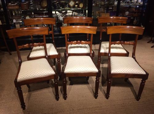 Six of Victorian Dining Chairs (1 of 1)