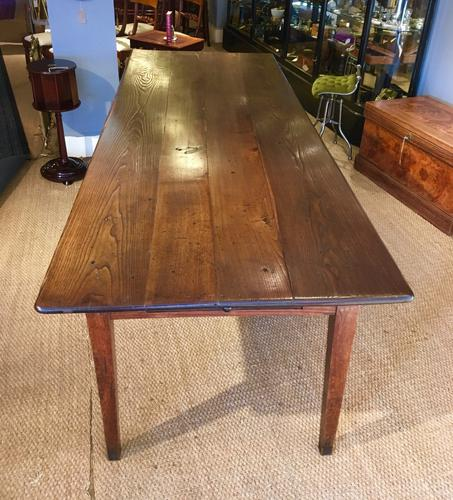Long & Wide Farmhouse Table c.1850 (1 of 1)