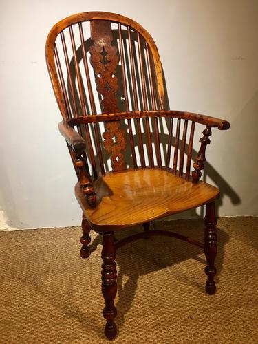 Yew & Elm Windsor Chair c.1910 (1 of 11)