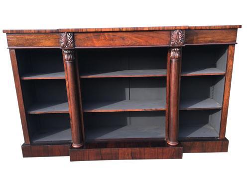 Rosewood Bookcase, English C.1840 (1 of 1)