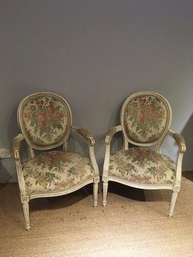 Pair of Salon Chairs c.1930 (1 of 1)