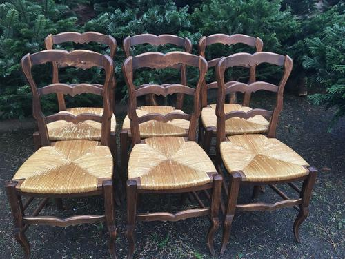 French Dining Chairs / Kitchen Chairs c.1920 (1 of 1)