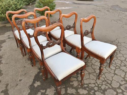 Set of 8 Dining Chairs Rosewood c.1840 (1 of 1)
