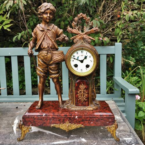 Mantle Clock French C.1900 (1 of 1)
