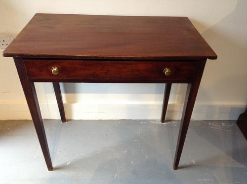 Mahogany Side Table c.1750 (1 of 1)