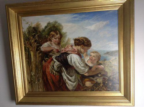 19th Century Oil Painting (1 of 5)