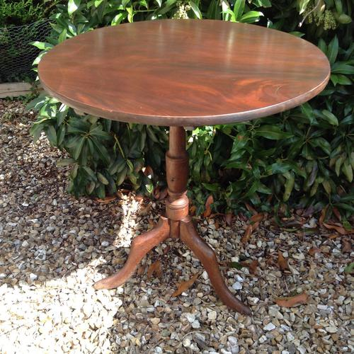 Mahogany Tripod Table c.1800 (1 of 2)
