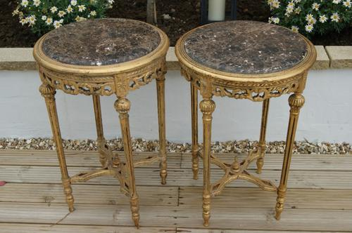 Pair of Tables c.1920 (1 of 1)