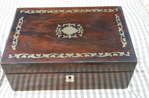 Rosewood Box C.1800 (1 of 1)