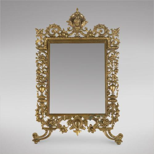 19th Century French Table Mirror (1 of 3)