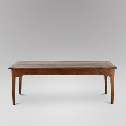 Lovely Fruitwood Topped Farmhouse Table C.1850 (1 of 5)