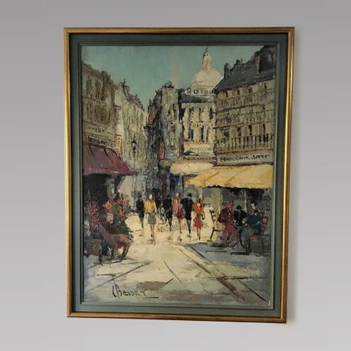 Johan Hubet Hendrick Bevort (1917 - 1996) - Oil On Canvas - Paris (1 of 1)