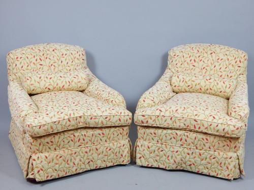 Pair of Howard Design Armchairs (1 of 1)