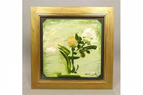 George Hainsworth , Oil on Board - Rose (1 of 1)