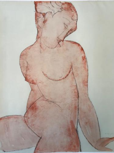Amedeo Modigliani - Female Nude (1 of 1)