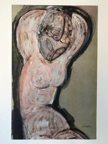 Amedeo Modigliani - Caryatid (1 of 1)