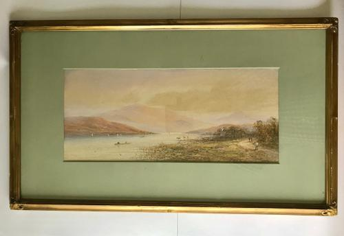M D Ansell - Watercolour - Scottish Loch (1 of 5)
