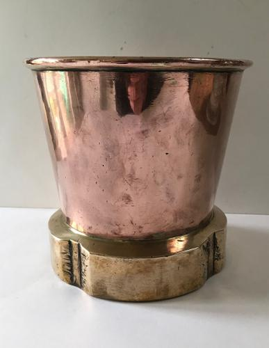 Brass & Copper Steam Funnel Bowl (1 of 1)