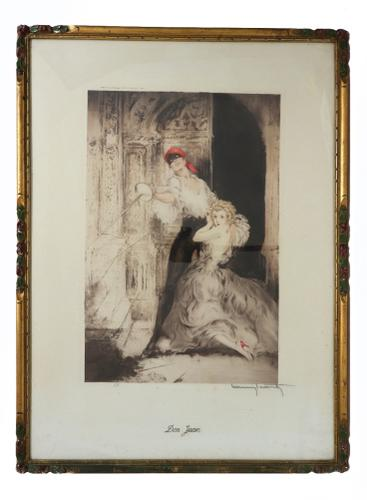 Louis Icart - Don Juan - Signed & Inscribed (1 of 1)