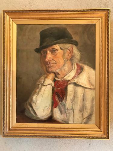 Emily R Stanton - Oil on Canvas - Old Joel Smith (1 of 1)