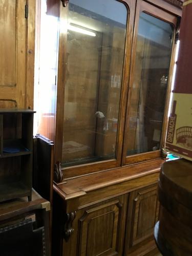 Good Victorian Glazed Bookcase (1 of 12)