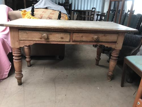 Pine Kitchen Table c.1880 (1 of 1)