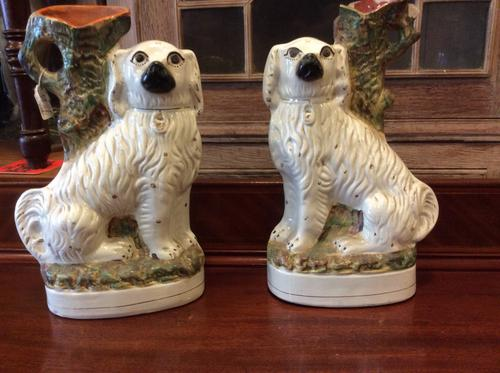 Pair of Staffordshire Figures (1 of 1)