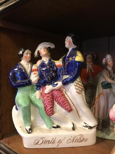 Death of Nelson Staffordshire Figure (1 of 1)