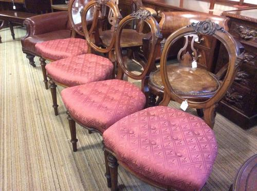 Good Set of 4 Victorian Chairs (1 of 1)