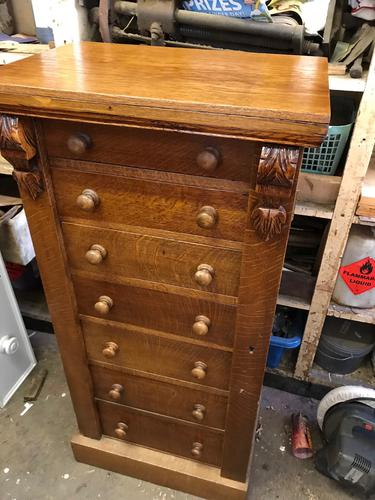 Oak Wellington Chest (1 of 1)