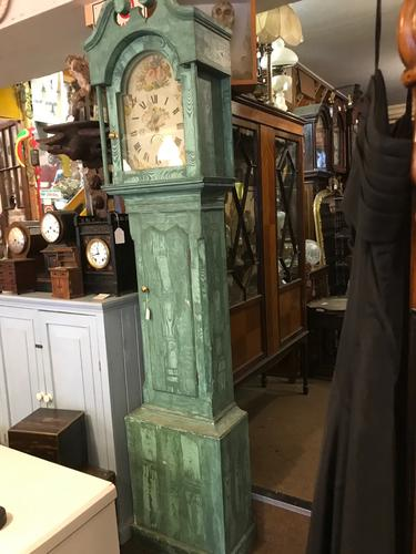 Painted Grandfather Clock (1 of 1)