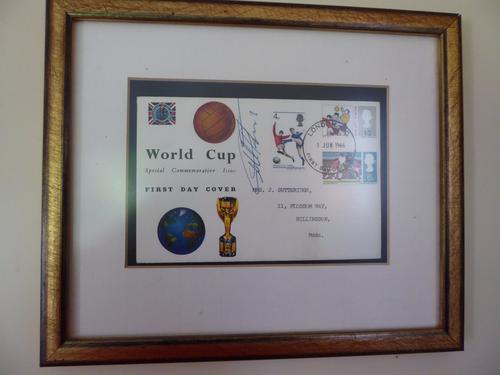 World Cup First Day Cover - signed by Sir Geoff Hurst (1 of 1)
