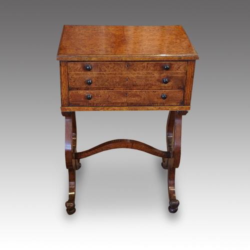 Regency Pollard Oak Work Table (1 of 10)