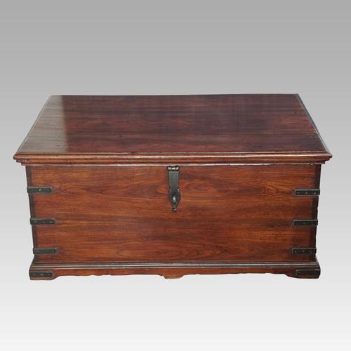 Antique Teak Merchant Chest (1 of 12)