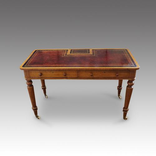 Victorian Oak Writing Table (1 of 15)