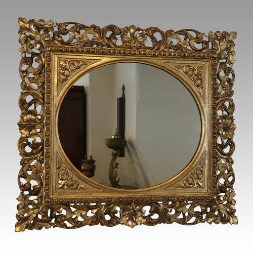Gilt Florentine Mirror (1 of 5)
