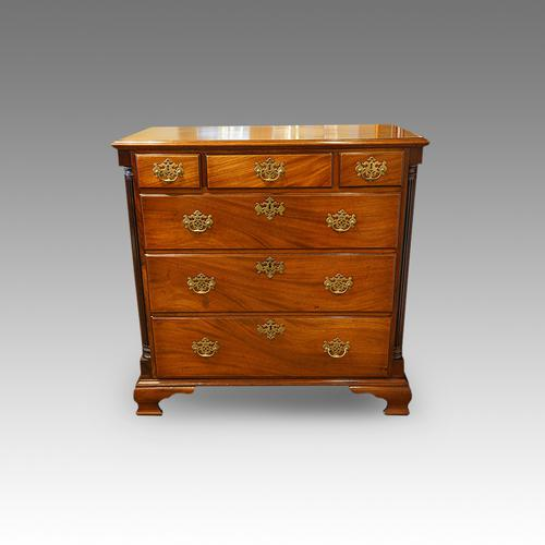 George III Mahogany North Country Chest (1 of 1)