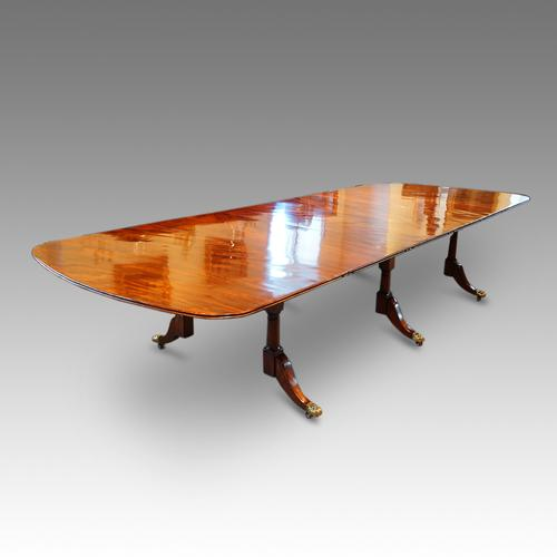 Regency Mahogany 14 + Seat Extending Dining Table (1 of 1)