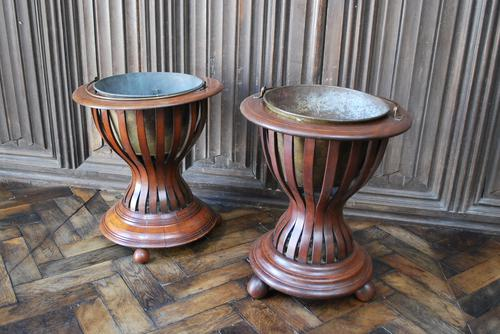 Pair of Mahogany Oyster Buckets / Wine Coolers (1 of 4)