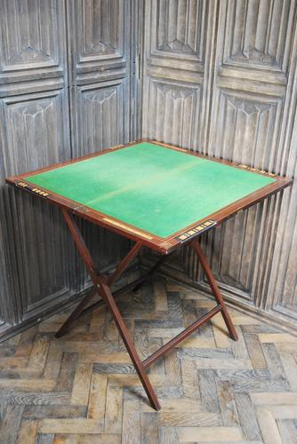 Folding Card / Games Table by W.Thornhill London (1 of 6)