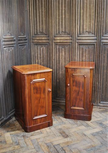 Pair of Mahogany Bedside Cabinets / Nightstands (1 of 7)