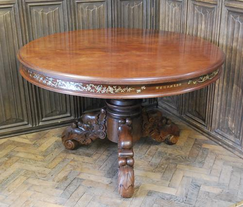 Chinese Solid Rosewood Centre Table (1 of 15)