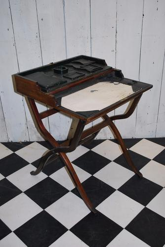 Fitted Coaching Table / Campaign Desk C.1900 (1 of 1)