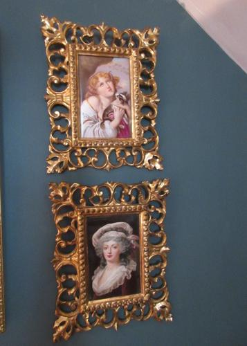 Pair of 19th Century Vienna Porcelain Plaques (1 of 8)