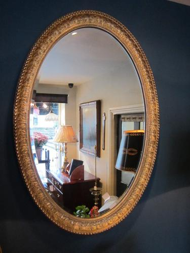 Superb Early Victorian Gilt Foliage Decorated Mirror (1 of 1)