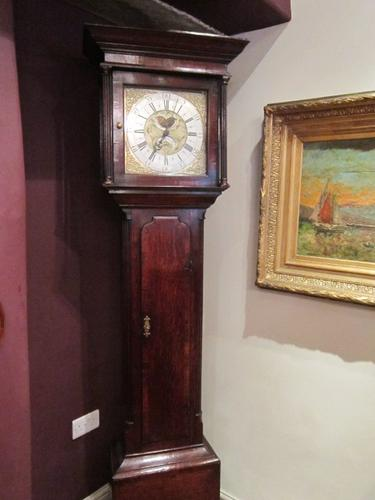 Small Mid Georgian Yorkshire Cottage Longcase Clock (1 of 1)